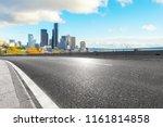 empty asphalt highway street... | Shutterstock . vector #1161814858