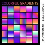 colorful gradients vector....