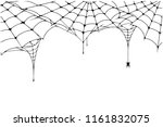 Scary Spider Web Background....