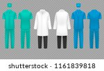 medical doctor uniform ... | Shutterstock .eps vector #1161839818