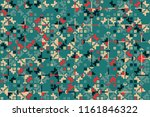 geometric background with... | Shutterstock .eps vector #1161846322