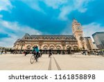 paris  france   05 may  2017 ... | Shutterstock . vector #1161858898