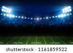 american football arena field... | Shutterstock .eps vector #1161859522