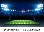 american football arena field... | Shutterstock .eps vector #1161859525