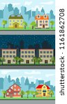 set of three vector... | Shutterstock .eps vector #1161862708