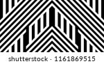 seamless pattern with striped... | Shutterstock .eps vector #1161869515
