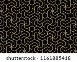 the geometric pattern with... | Shutterstock .eps vector #1161885418