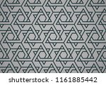 the geometric pattern with... | Shutterstock .eps vector #1161885442