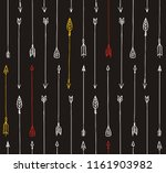 seamless pattern with arrows | Shutterstock .eps vector #1161903982