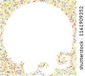 sprinkles grainy. sweet...   Shutterstock .eps vector #1161909352