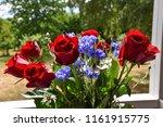 flower bouquet with beautiful... | Shutterstock . vector #1161915775