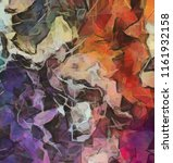 abstract painting background.... | Shutterstock . vector #1161932158