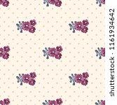 seamless vector ornamental... | Shutterstock .eps vector #1161934642