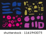 bright colorful vivid  cheerful ... | Shutterstock .eps vector #1161943075
