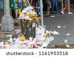 new york  united states  august ... | Shutterstock . vector #1161953518