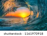 Sunset Sea Water Ocean Wave