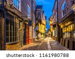 York Shambles Alley Sunset Dus...