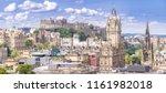 Edinburgh Castle With Cityscape ...
