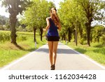 healthy lifestyle sports woman...   Shutterstock . vector #1162034428