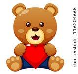 Illustration Of Teddy Bear Wit...