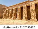 ancient ruins of karnak temple... | Shutterstock . vector #1162051492