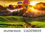 Colorful Hot Air Balloons And...