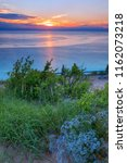 Vivid Lake Michigan Sunset At...