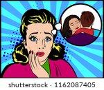 Sad Shocked Jealousy Woman...