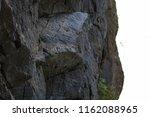 rock wall texture | Shutterstock . vector #1162088965