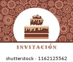 color card. invitation to a... | Shutterstock .eps vector #1162125562