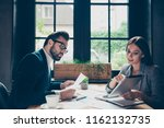 two minded modern professional... | Shutterstock . vector #1162132735