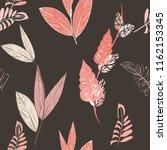 autumn  seamless pattern... | Shutterstock .eps vector #1162153345