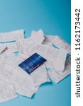 close up of credit card on... | Shutterstock . vector #1162173442