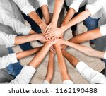 young groupe of people | Shutterstock . vector #1162190488