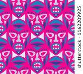 seamless background. tribal... | Shutterstock .eps vector #1162209925