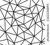 polygon abstract polygonal... | Shutterstock .eps vector #1162236895