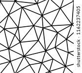 polygonal seamless pattern. low ... | Shutterstock .eps vector #1162237405