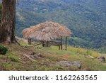 A Small Hut In The Pilkington...