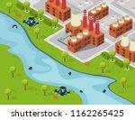 drastic plastic isometric... | Shutterstock .eps vector #1162265425