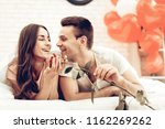 beautiful couple together on...   Shutterstock . vector #1162269262