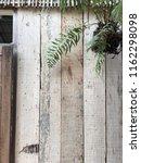 rustic wooden wall reclaimed... | Shutterstock . vector #1162298098