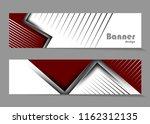 vector modern banners templates | Shutterstock .eps vector #1162312135