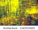 yellow old grunge background | Shutterstock . vector #1162313602
