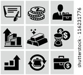 investment icons | Shutterstock .eps vector #116231776
