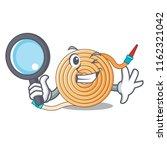 detective garden water hose... | Shutterstock .eps vector #1162321042