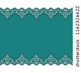 vintage background with lace...   Shutterstock . vector #1162326622