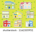 collar stickers of solitary... | Shutterstock .eps vector #1162335952