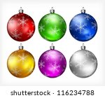 Christmas Color Baubles...