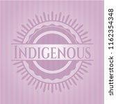 indigenous pink emblem | Shutterstock .eps vector #1162354348