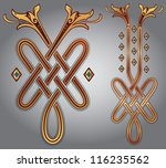 abstract celtic design for your ... | Shutterstock .eps vector #116235562